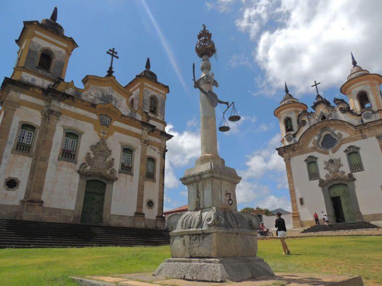 Mariana - Minas Gerais Square - By Ricardo Campos