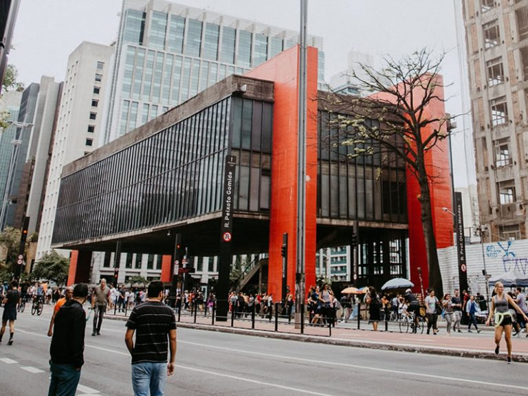 Paulista Avenue and MASP