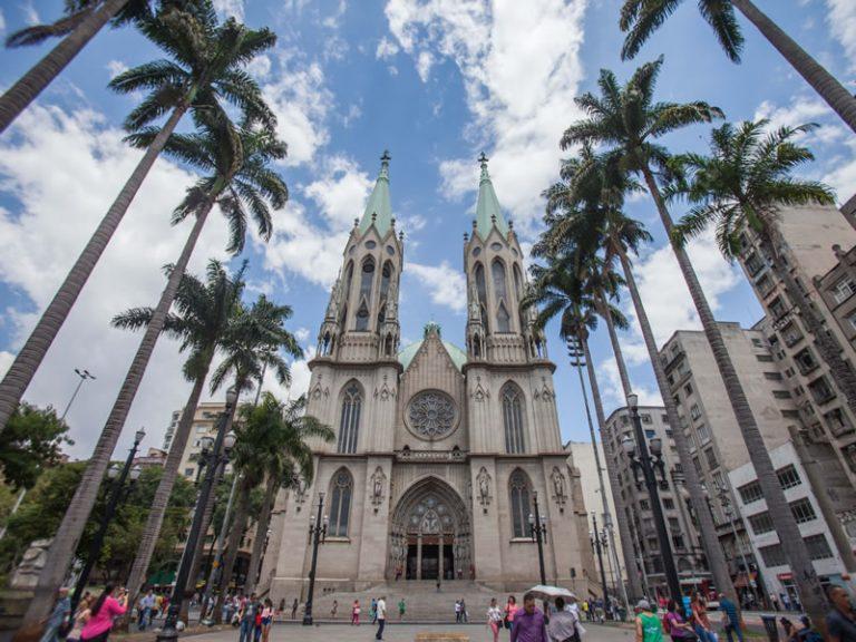Metropolitan Cathedral - Sé Square II - By Rogerio Cassimiro